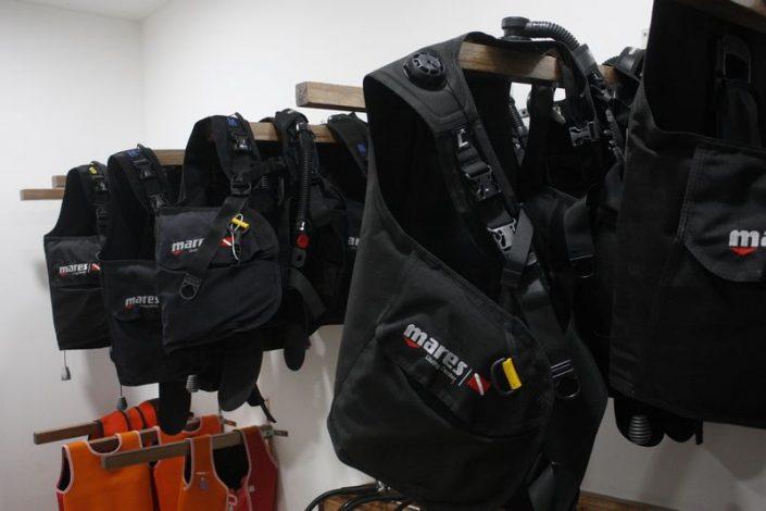 equipaggiamento per immersioni diving Hurua